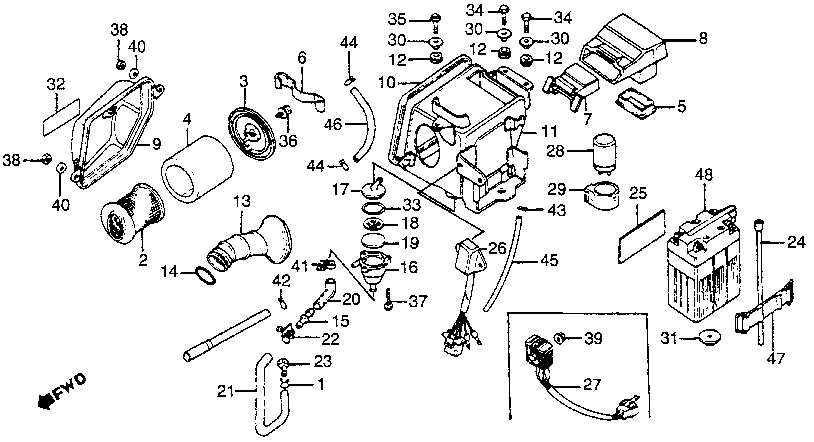 1984 honda xl350r wiring diagram
