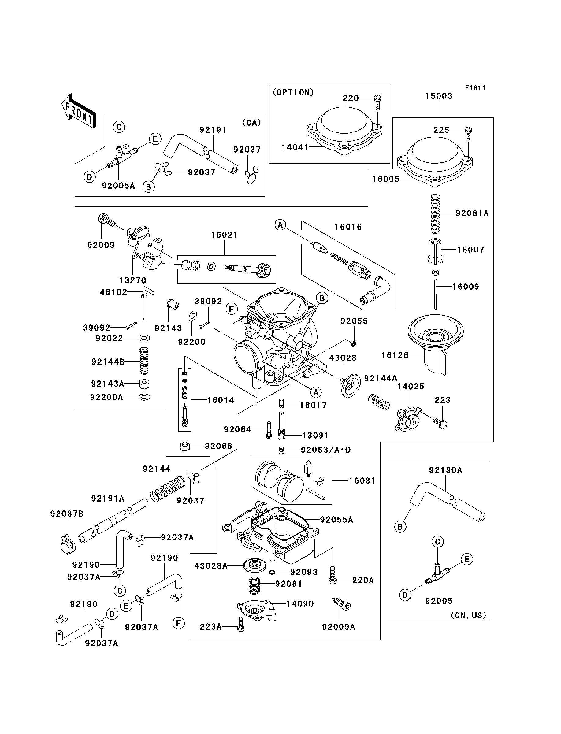 honda magna parts and accessories
